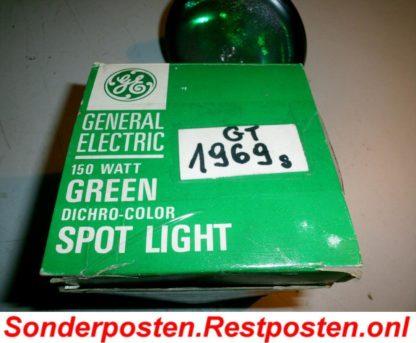 150 Watt GENERAL ELECTRIC GREEN SPOT LIGHT EchteQualität | GS1969