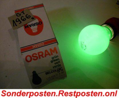 25 Watt Glühbirne Grün Hersteller OSRAM mind. 20 Jahre alt EchteQualität | GS1966