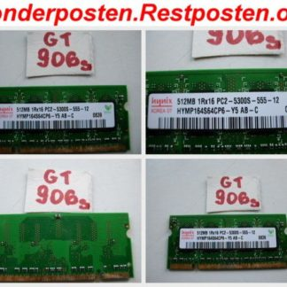 512MB RAM DDR2 200pol. Notebook Laptop Ramriegel Speicher 1Rx16 PC2-5300S-555-12 GS906