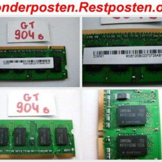 512MB RAM DDR2 200pol. Notebook Laptop Speicher KN5120B Ramriegel GS904