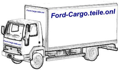 FORD CARGO 0813 Tacho Verkleidung 84DB10A988A | GS977