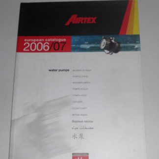 Wasserpumpen Ersatzteilkatalog Katalog Airtex GS1356