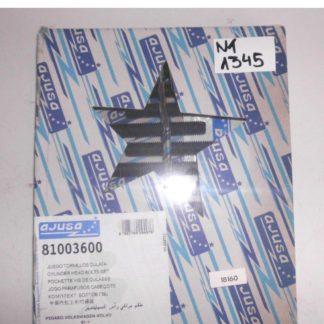 Satz Zylinderkopfschrauben Volvo 240 VW LT 28-35 I 40-55 I Ajusa 81003600 NT1345