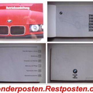 BMW E36 318i Ersatzteile Teile Betriebsanleitung