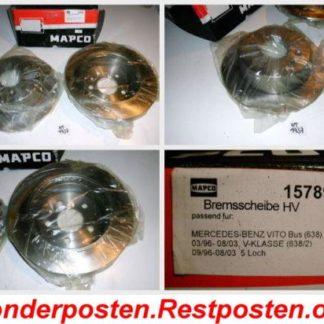 Bremsscheiben MAPCO 15798 MERCEDES NT1737