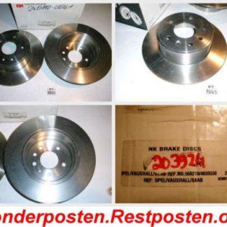 Bremsscheiben NK 203624 OPEL NT1863