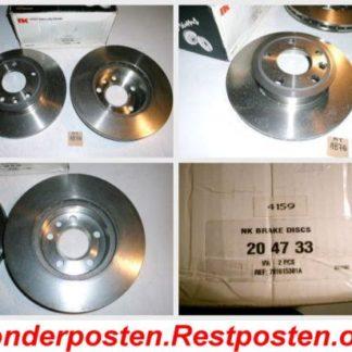 Bremsscheiben NK 204733 VW NT1876