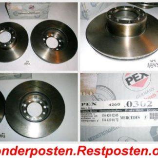 Bremsscheiben PEX 14.0302 140302 MERCEDES NT1843