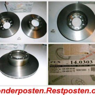 Bremsscheiben PEX 14.0303 140303 Mercedes NT1820