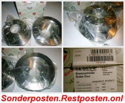 Bremsscheiben PEX 14.0338 140338 VW NT1830
