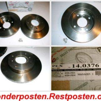 Bremsscheiben PEX 14.0376 140376 Nissan NT1827