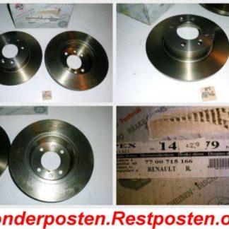 Bremsscheiben PEX 14.0479 140479 RENAULT NT1846