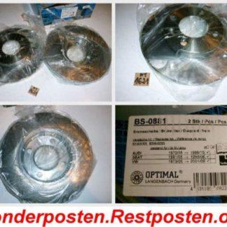 Bremsscheiben Optimal BS0881 AUDI NT1621