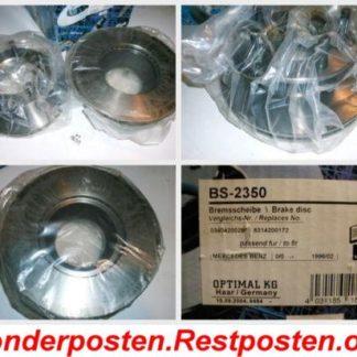 Bremsscheiben Optimal BS2350 OPEL NT1631