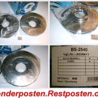 Bremsscheiben Optimal BS2540 FORD NT1666