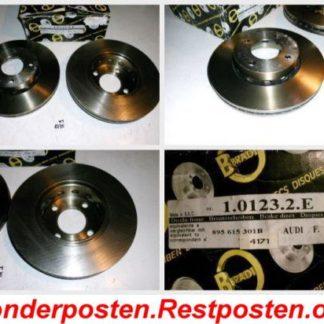 Bremsscheiben METZGER 1.0123.2.E 101232E AUDI NT1775