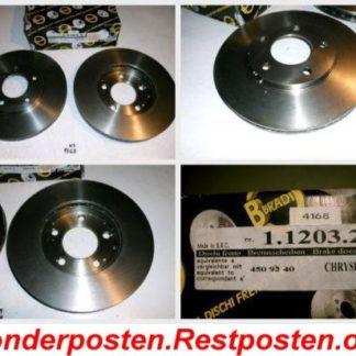 Bremsscheiben METZGER 1.1203.2.4 1120324 CHRYSLER NT1768