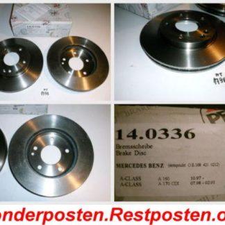 Bremsscheiben PEX 14.0336 140336 Mercedes NT1798