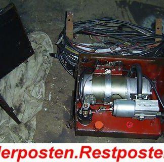 Ford Cargo 0813 Sörensen Hebebühne Pumpe