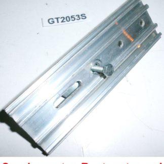 Halter Halterung Montageplatte Heizkostenverteiler 115 x 38,5 x 7 | GS2053