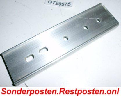 Halter Halterung Montageplatte Heizkostenverteiler 129 x 36 x 10,5 | GS2057