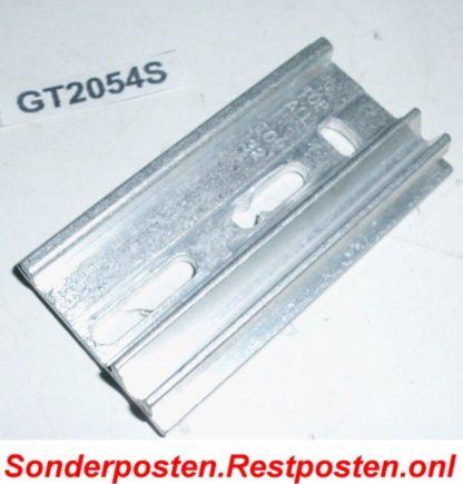 Halter Halterung Montageplatte Heizkostenverteiler 73 x 38,5 x 11 | GS2054