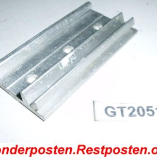 Halter Halterung Montageplatte Heizkostenverteiler 73,0 x 38,5 x 10,5 | GS2051