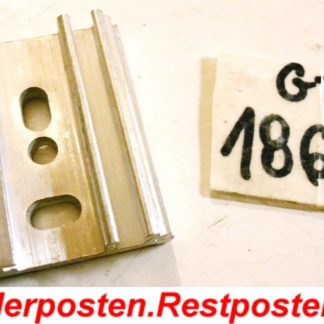 Halter Halterung Montageplatte Heizkostenverteiler h: 44,5 b: 38 t: 10,5 | GS1864