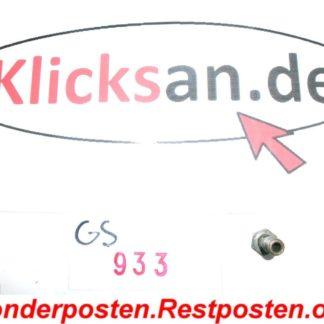Hatz Diesel E85 E 85 G Teile Schraube Leitung GS933
