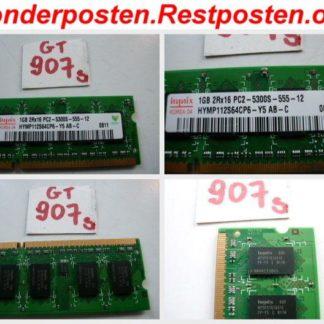 Ramriegel Hynix 1GB RAM DDR2 200pol. Notebook Speicher 1GB 2Rx16 PC2-5300S-555-12 GS907