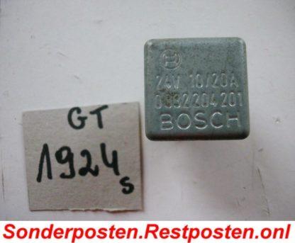 IVECO MK 80-13 Relais Bosch 0332204201 GS1924
