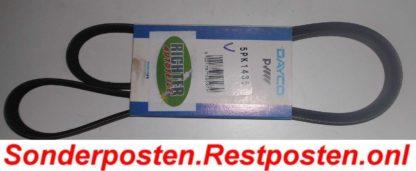 Keilrippenriemen Dayco 5PK1435 | NT289