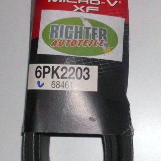 Keilrippenriemen Gates 6PK2203 68461 | NT356
