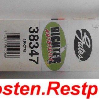 Keilrippenriemen Gates Dayco 38347 3PK775 | NT231