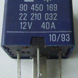 Opel Astra F Relais Blau 90450169 22210032