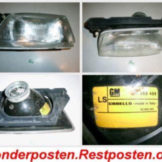 Opel Kadett E Scheinwerfer links Carello 90369489   GM198