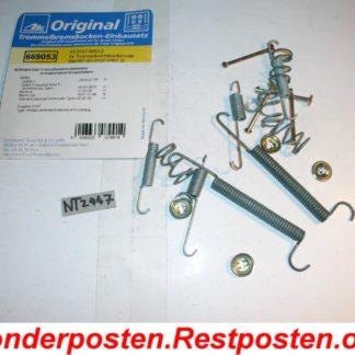 Original ATE Zubehörsatz Bremsbacken 03.0137-9053.2 NT2447