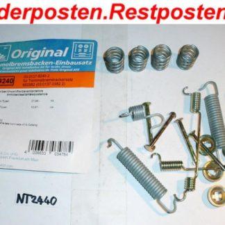 Zubehörsatz Bremsklötze Bremsbacken ATE 03013792402 NT2440