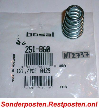 Original BOSAL Feder Abgasrohr Schalldämpfer 251-860 Neuteil NT2737
