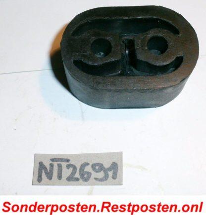 Original BOSAL Gummipuffer Anschlagpuffer Schalldämpfer 255-971 Neuteil NT2691