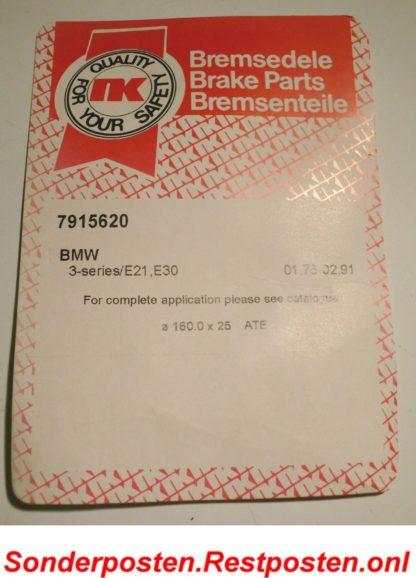 Zubehörsatz Feststellbremsbacken Bremsbacken NK 7915620 NT2380