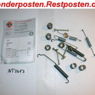 Zubehörsatz Bremsbacken PEX 618 NT2417