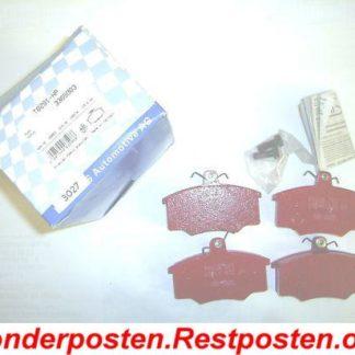 PAGID Sport Bremsklötze Bremsbeläge T0291-HP AUDI 811698151B WVA 20574 NT1251