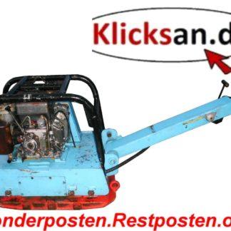 Rüttelplatte Weber TC70S 500KG Reversierbar BM032