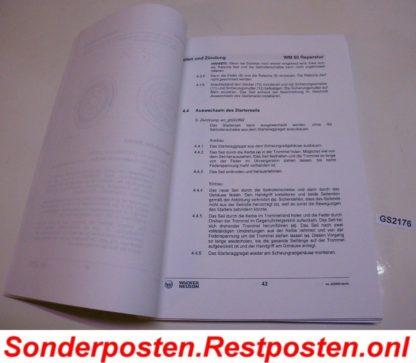 Wacker WM 80 Motor Reparatur - Handbuch Reparaturanleitung Reparaturhandbuch GS2176