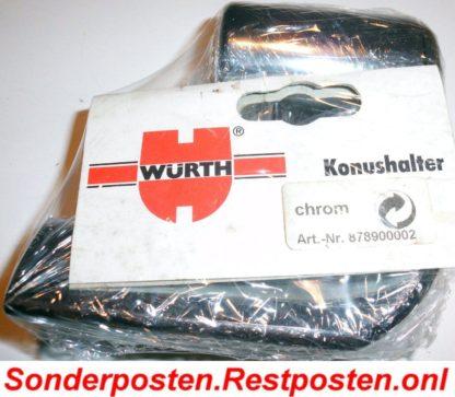 Würth Konushalter Halter für Handbrause Duschbrause Brausenhalter Chrom | GS2061