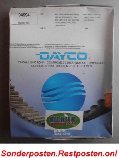 Zahnriemen Dayco Goodyear 94594 Fiat | NT132