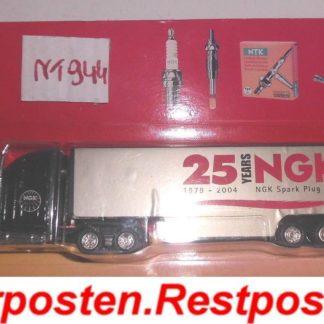 NGK Truck Sammlerstück 25 Jahre NGK Truck Werbemodell Goldfarbig NT944